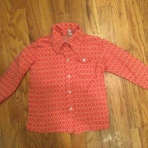 Vintage, Girls Button Down Shirt